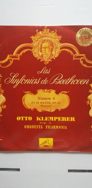 Disco de vinilo Beethoven Sinfonía nº6