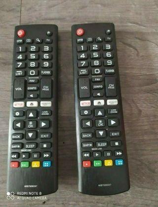 Mando a distancia televisión LG