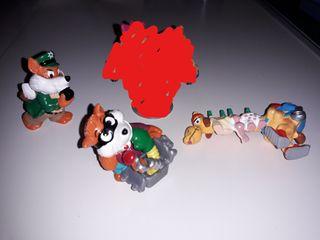 Figuritas Huevos Kinder diferentes Colecciones 90s
