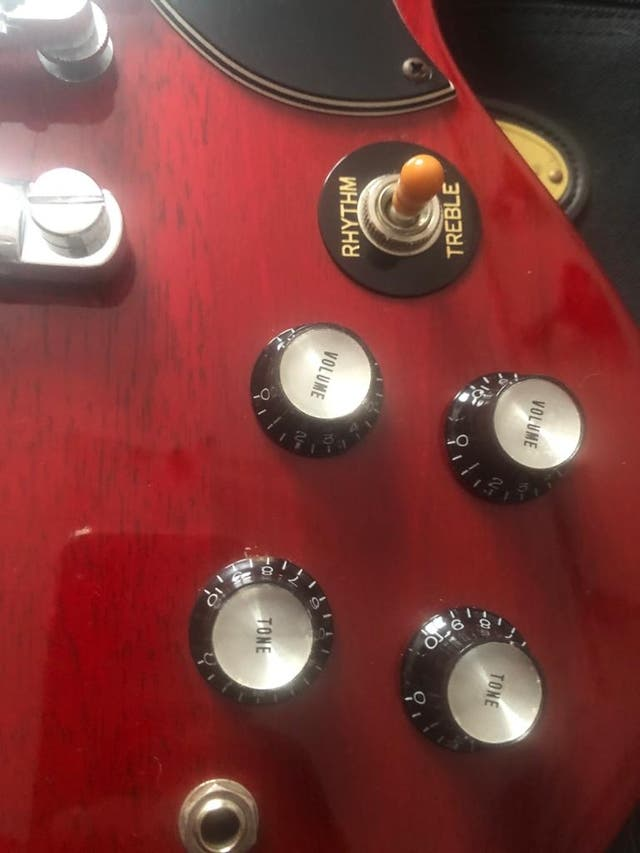 Guitarra eléctrica: Epiphone SG Standard 61