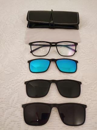 Gafas de sol intercambiables polarizadas