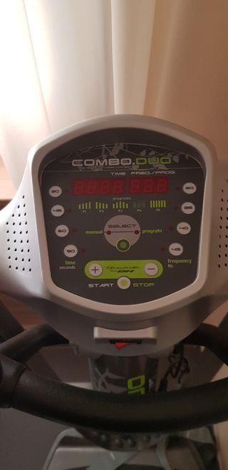 Maquina Vibratoria Combo DUO
