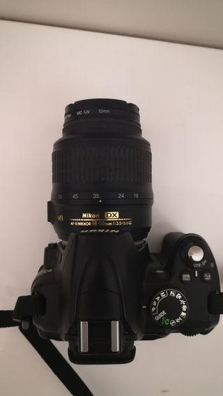 nikon D3000 reflex