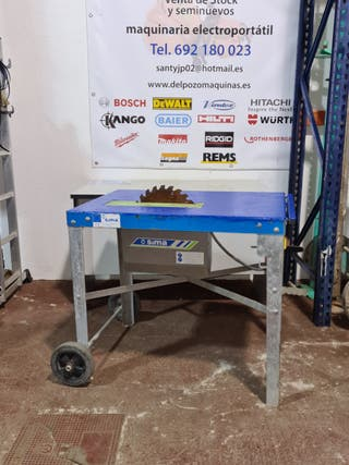 sima tronzadora mesa madera 380v