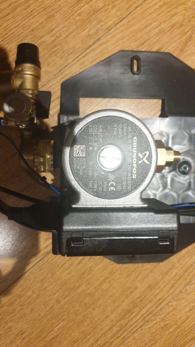 Bomba calefaccion y acs solar Grundfos