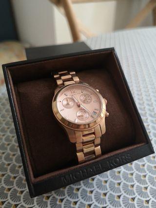 Reloj mujer Michael Kors oro rosa