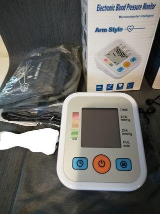 Tensiómetro de brazo nuevo, digital LCD, memoria