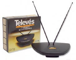 Antena electrónica Televés turbot electronic