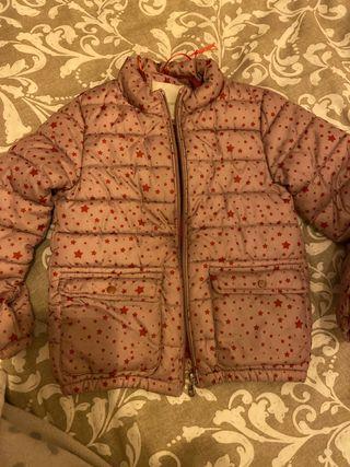 Abrigo niña mango 5 años