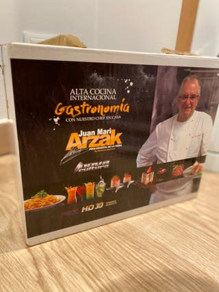 Alta Cocina Internacional de Juan Mari Arzak