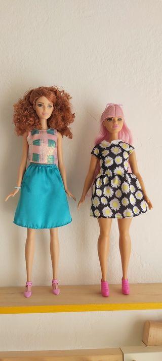 Lote Barbie fashionistas