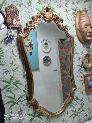 espejo isabelino vintage