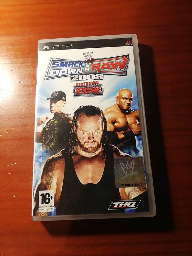 Smack Down vs Raw 2008 (psp)