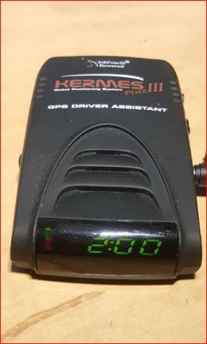 Avisador de radares fijos para el coche hermes 3 P