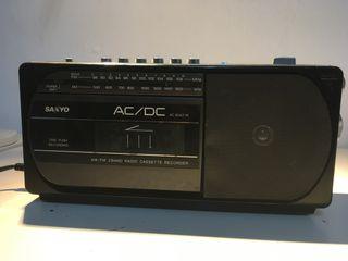 Radio cassette vintage SANYO - M 1740