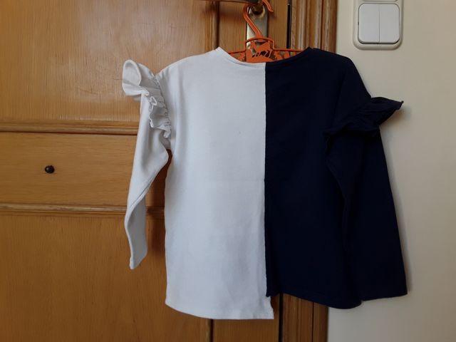 Camiseta de niña, talla 7, Zara kids