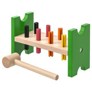 Bloque madera con tornillos IKEA