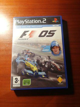 Formula 1 05 PS2