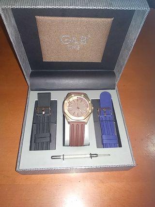 reloj g&b de acero