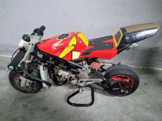 mini moto competición