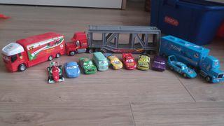 Colección de coches y camiones Película Cars