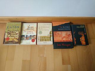 lote libros varios autores.