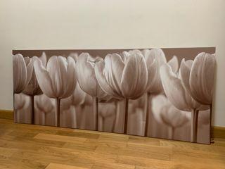 Cuadro de tulipanes. Ikea