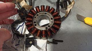 Estator y plato magnético drz 400