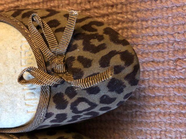 Bailarinas manoletinas leopardo