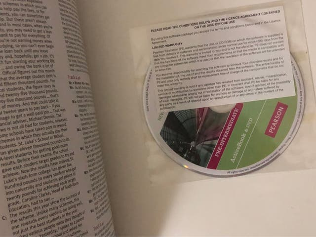 Libros inglés Pearson Pre y Upper intermediate