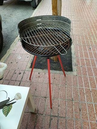 barbacoa portátil hierro