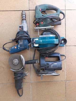 Cjto de completo de herramientas.y accesorios