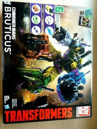transformers combiners wars bruticus