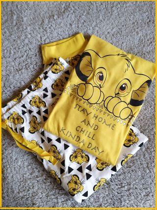 Pijama largo Simba Rey León Disney talla XL 46-48