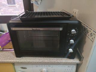 horno electrico con grill.