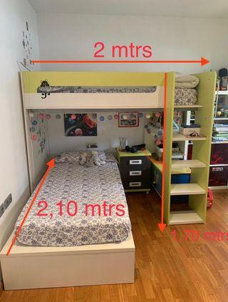 Habitacion niños completa