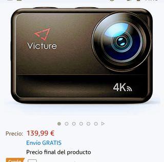 Victure AC940 4K/60 f Acuática/Pantalla Tactil