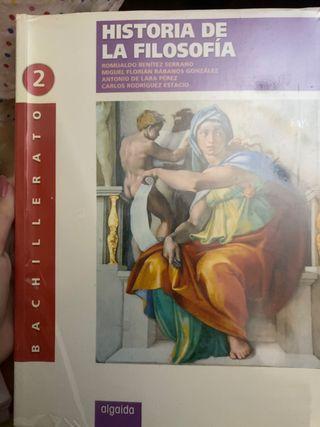Libro Histo de la filosofía 2 bachillerato