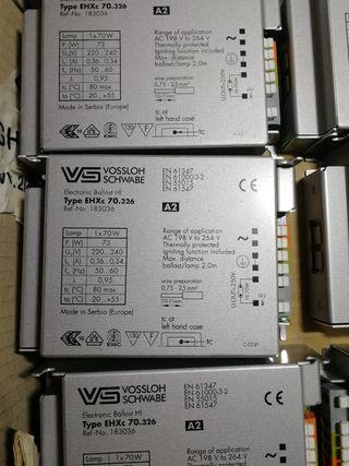 4 Transformadores 35w y uno de 70w hi