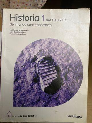 Libro historia mundo contemporáneo 1 bach