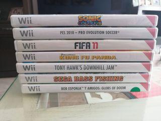 7 juegos para wii