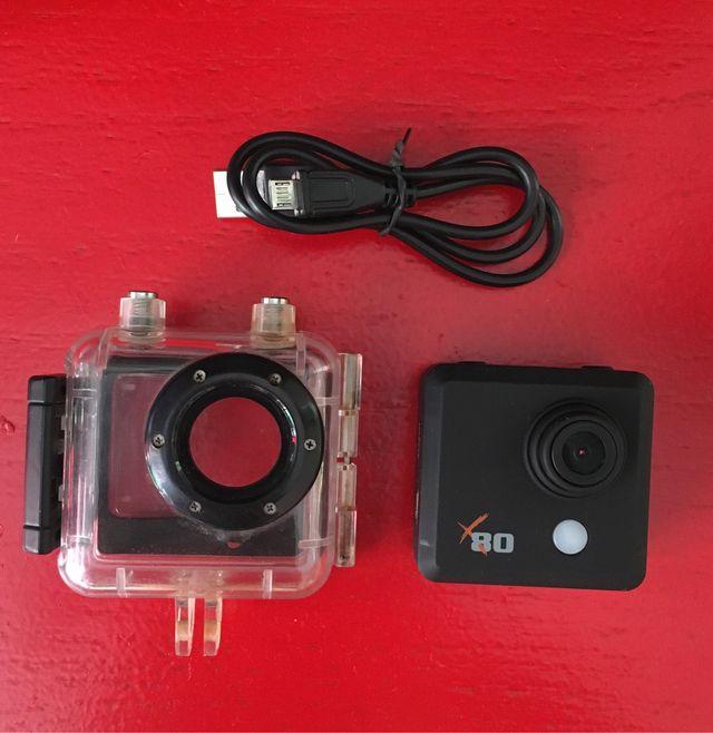 Cámara de acción tipo GoPro