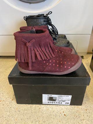 Lote botas niña