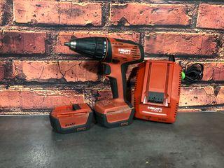 Atornillador con 2 baterias Hilti