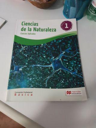Libro ciencias de la naturaleza FP Básica