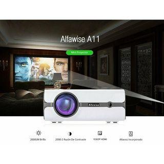 Mini proyector Alfawise modelo A11