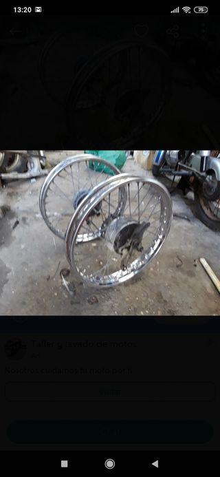 ruedas derbi variant radios. moto