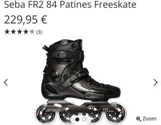 Patines Seba Freeskate FR2 84