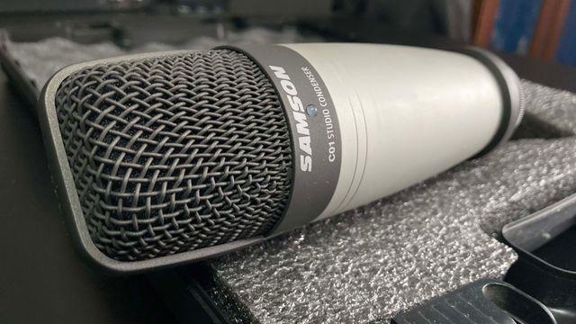Micrófono SAMSON C-01 de condensador