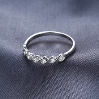 Classic Round Cubic Zirconia Wedding Promise Rin